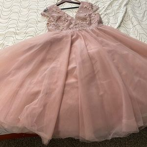 Chi chi London Maternity dress with tulle skirt